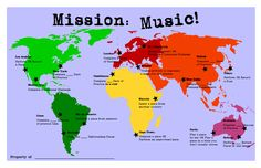 Mission Music- Fantastic Piano Music Lesson Incentive for Next year.
