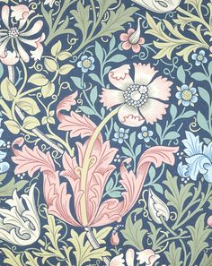 Compton wallpaper, by William Morris -- High quality art prints, framed prints, canvases -- V Prints