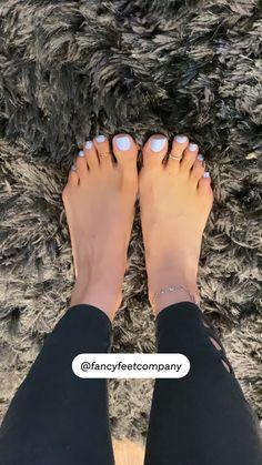 Toe Nails White, Purple Toe Nails, Fall Toe Nails, Pretty Toe Nails, White Toes, Summer Toe Nails, Acrylic Nails Coffin Short, Pretty Toes, Cute Acrylic Nails
