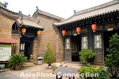 Chinese courtyard in China