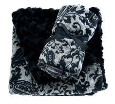 Small POSH reversible minky blanket