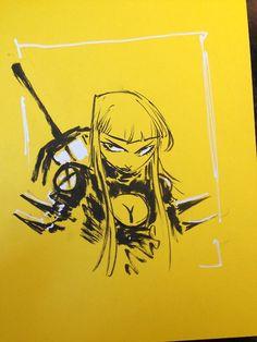 Magik sketch by Skottie Young.