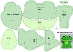 Froggy. Free pattern by krikdushi on deviantART