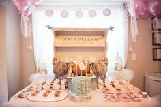 Cinderella Ballet Birthday Party Ideas | Photo 1 of 63 | Catch My Party