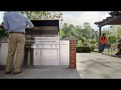 ▶ The Ultimate Outdoor Kitchen by Kalamazoo Outdoor Gourmet - YouTube