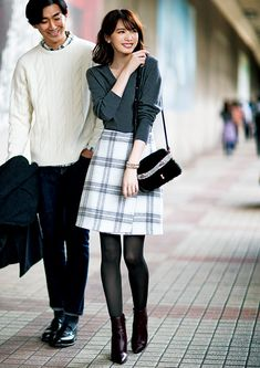 feminine fashion looks 417 Modest Fashion, Skirt Fashion, Fashion Outfits, Womens Fashion, Feminine Fashion, Spring Outfits Japan, Winter Stil, Fashion Poses, Trendy Clothes For Women