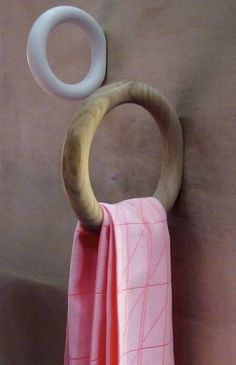 towel hooks by Swedish designer Staffan Holm for Hay