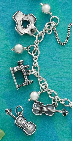 Summer Collection - Express Yourself-Tell Your Story by Pairing Charms Together or by Adding Engraving #JamesAvery