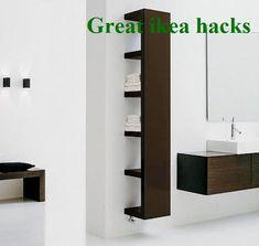 Great ikea hacks Ideas & Designs #hacksforbegginers Ikea Closet Hack, Closet Hacks, Ikea Storage, Storage Hacks, Ikea Hacks, Apartment Ideas, Bathroom Medicine Cabinet, Simple, Easy