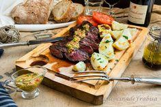 La cocina de Frabisa: Entraña asada a la plancha. La mejor carne