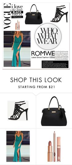 """""""Romwe VII/7"""" by m-sisic ❤ liked on Polyvore featuring Dolce Vita, Essie and Who What Wear"""