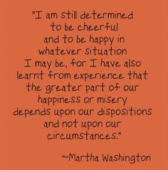Don't let life's circumstances get you down