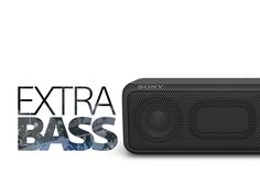 SAVE! Refurb'd for Sony SRSXB3/BLK Portable ExtraBass Splash Proof Wireless Speaker with Bluetooth, NFC   Blue or Black #IpadSpeaker #iPad #GirlsGift #iPhone #ChristmasGift #BathAccessory #BedroomAccessory #BluetoothSpeaker #IphoneSpeaker #fitness #SplashProofSpeaker