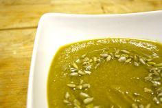 Asparagus & Cauliflower #Soup #recipe