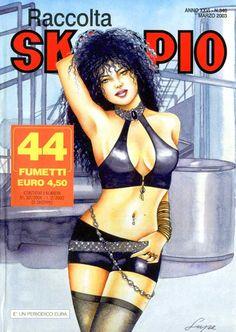 Fumetti EDITORIALE AUREA, Collana SKORPIO RACCOLTA n°346 MARS 2003