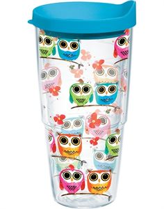 Owl Tervis Tumbler. Makes me think of my daughter-in-law, she would love this!