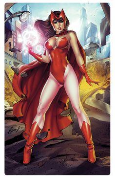 Scarlet Witch by Elias-Chatzoudis.deviantart.com on @DeviantArt