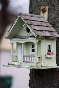 perfect little bird cottage