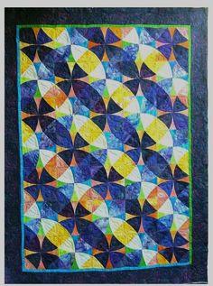 Winding Ways variation. Passion Fruit. Made By: Helen Marshall, Hampton Roads, VA