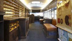 Warby Parker Class Trip: Traveling School Bus Eyeglass Pop-Up Shop by Partners & Spade