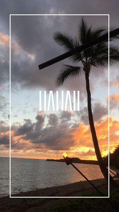 °4 traumhafte Inseln in 4 Wochen °4 beautiful islands in 4 weeks Hawaii, Wind Turbine, Celestial, Sunset, Outdoor, Beautiful, Islands, Destinations, Viajes