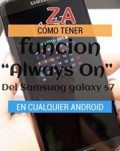 """Como tener la funcion """"Always On"""" del Galaxy S7 en Cualquier ANDROID http://www.zonatopandroid.com/always-on-aplicacion-android/  #gALAXY #s7 #Android #Aplicaciones #Mejores #google"""