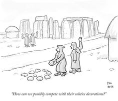 Paul Noth's Daily Cartoon About Holiday Decorations : The New Yorker