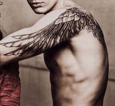 Perfect wings tattoo