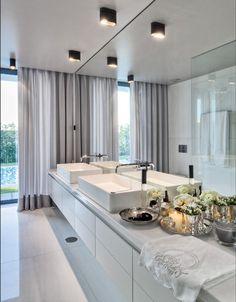 Braga House 1 / Casa do Passadiço @casadopassadico #bathroom #lighting