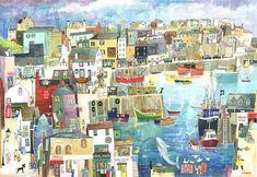 Fishing Boats at Mevagissey, £39.00
