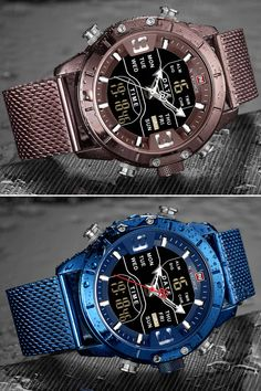 This trendy watch fits for every occasion, be it a formal or casual outfit.