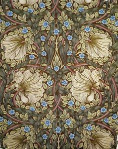 William Morris. See my 'Blog/Sites: Art+' Board for information on artist William Morris.