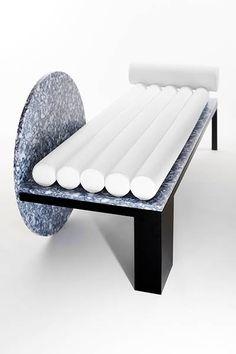 ideas for living room furniture minimalist sofas Bench Furniture, Steel Furniture, Design Furniture, White Furniture, Furniture Decor, Modern Furniture, Rustic Furniture, Outdoor Furniture, Business Furniture