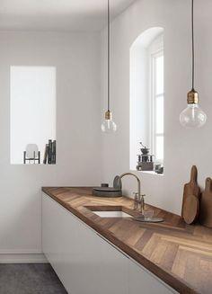 Circle House by Kichi Architectural Design in Tsukuba, Japan Apartment Kitchen, Home Decor Kitchen, Kitchen Interior, Home Kitchens, Kitchen Ideas, Kitchen Wood, Kitchen Artwork, Cheap Apartment, Outdoor Kitchens