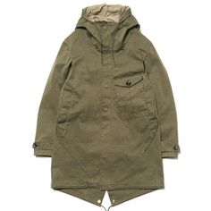 Ten C Cyclone Parka Olive