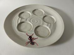 Kunsthandwerk von Freunberger-Keramik Plates, Tableware, Stoneware, Arts And Crafts, Licence Plates, Dishes, Dinnerware, Griddles, Tablewares