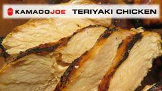 Kamado Joe Teriyaki Chicken Breasts - YouTube Kamado Grill, Kamado Joe, Bbq Grill, Grilling, Ceramic Smoker, Joe Recipe, Teriyaki Chicken, Food Videos, Main Dishes