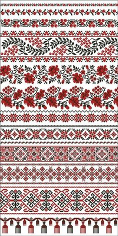 / Фото - рушники - by tammi Cross Stitch Geometric, Cross Stitch Borders, Cross Stitch Flowers, Cross Stitch Designs, Cross Stitching, Cross Stitch Embroidery, Hand Embroidery, Embroidery Patterns, Cross Stitch Patterns