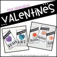 Valentine Tag Freebi