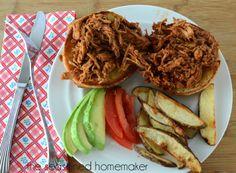 Gluten-Free Pulled BBQ PORK or Chicken