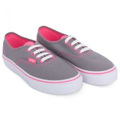 Pink and grey vans No marks on the outside. Foot indent inside but quality is Vans Shoes Sneakers Skate Shoes For Girls, Vans Girls, Girls Shoes, Cute Vans, Cute Shoes, Me Too Shoes, Vans Shoes, Shoes Sandals, Vans Sneakers