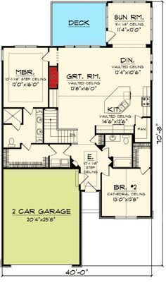 83 best 2 bedroom ranch with basement plans images in 2019 floor rh pinterest com