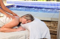 Outdoor treatments at the Winelands Spa, Kievits Kroon