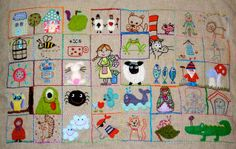 Stitching Along Finished by Roxy Creations, via Flickr