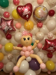 Balloon Ideas, Baby Shower Balloons