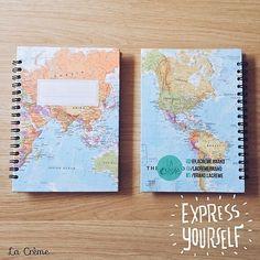 mapamundi notebook