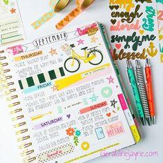 geraldinejayne.com Creative planner blog