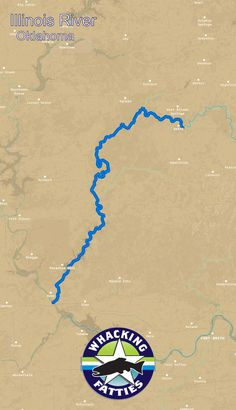 Lake Texoma Fishing Map Oklahoma Fishing Map Series A Fishing - Fishing hotspot maps