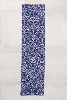 Magical Thinking Star Tile Runner - Urban Outfitters-- Guest bath