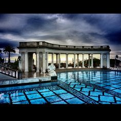 Charming Hearst Castle  Outdoor Pool